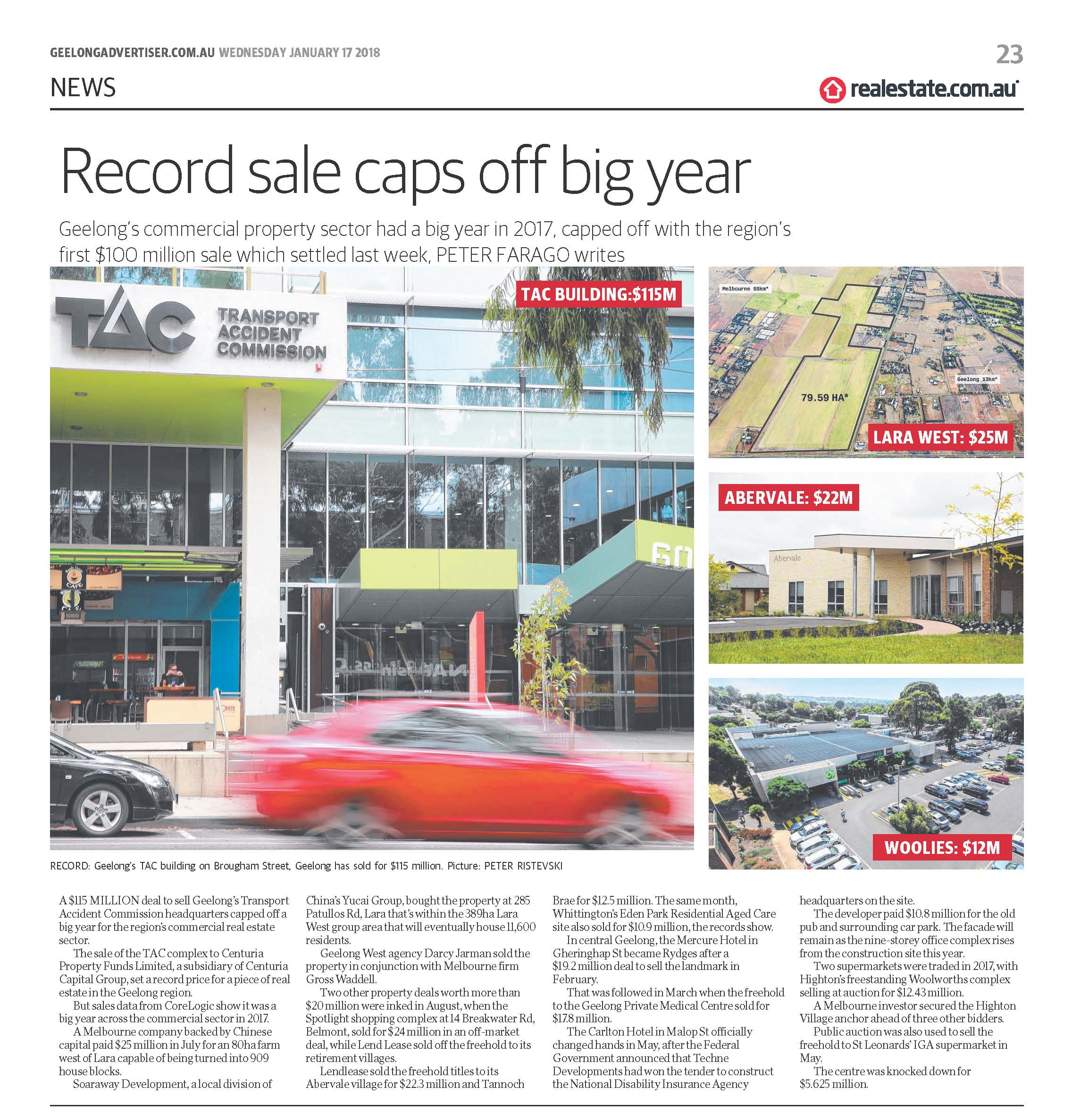 EditGeelong Advertiser_17-01-2018_Record Sales_p23